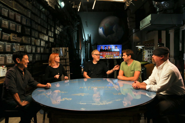 Mythbusters TV show on Science Channel revival