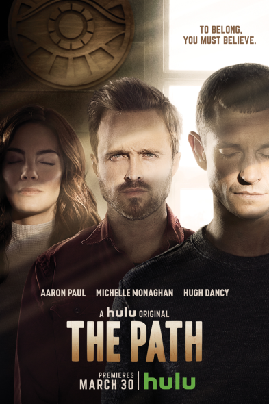 The Path TV show on Hulu: season 1 premiere (canceled or renewed?) The Path season one poster
