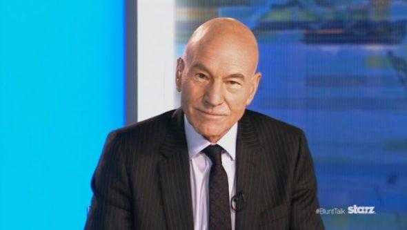 Blunt Talk TV show on Starz: canceled, no season 3