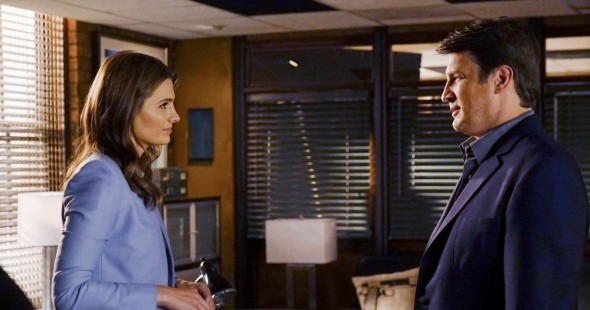 Castle TV show on ABC: cancel or renew for season 9?