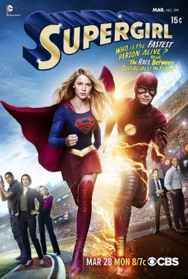 Supergirl TV show, The Flash TV show