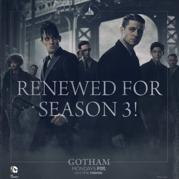 Gotham TV show on FOX: season 3