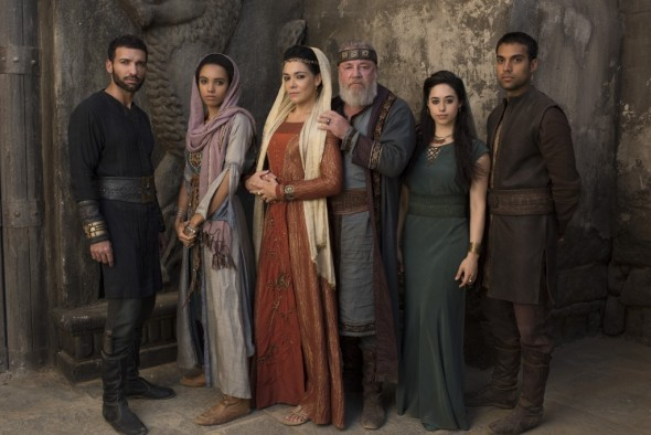 Of Kings and Prophets TV show on ABC (canceled or renewed?)