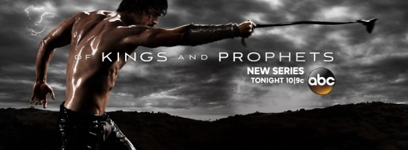 Of Kings and prophets TV show on ABC: ratings (cancel or renew?)