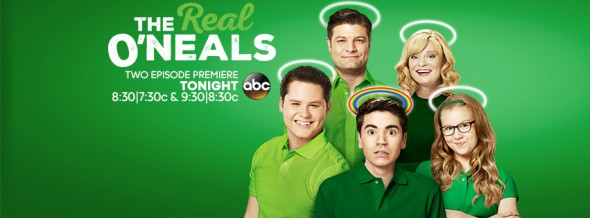 The Real O'Neals TV show on ABC: ratings (cancel or renew?)