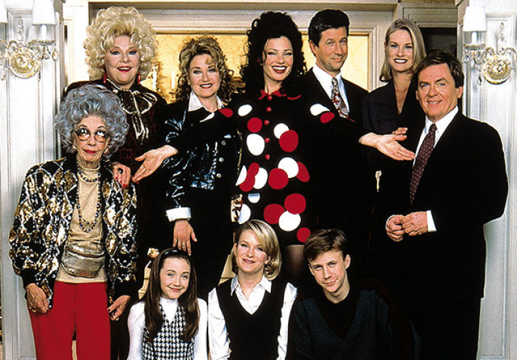 The Nanny cast reunites (remotely!) for reading of 1993