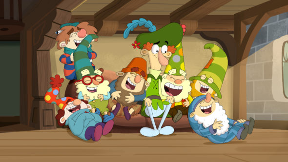 The 7D TV show on Disney XD: season 2 canceled, no season 3.