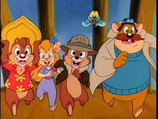 Chip n Dale Rescue Rangers TV show