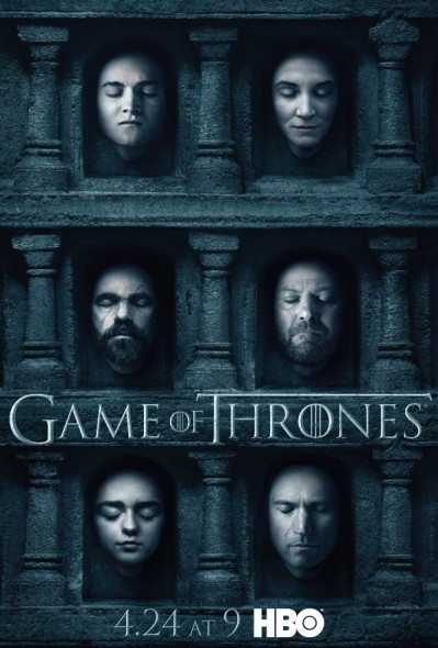 Game Of Thrones Hbo Releases Season Six Group Posters Canceled Tv