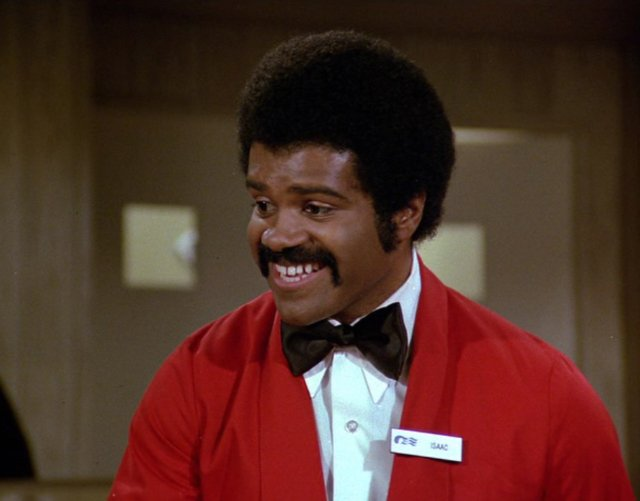 who played isaac on the love boat