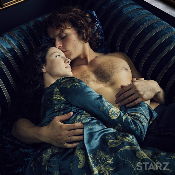 Outlander TV show on Starz: season 2 early premiere (canceled or renewed?)