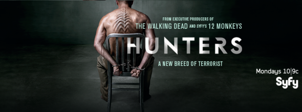 Hunters TV show on Syfy: ratings (cancel or renew?)