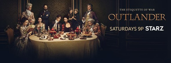 Outlander TV show on Starz: ratings (cancel or renew?)