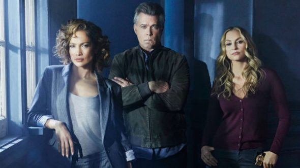 SHADES OF BLUE -- Season: 1 -- Pictured: (l-r) Jennifer Lopez as Harlee Santos, Ray Liotta as Bill Wozniak, Drea de Matteo as Tess Nazario -- (Photo by: Jeff Riedel/NBC)