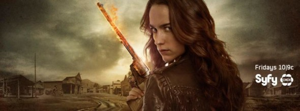 Wynonna Earp TV show on Syfy: ratings (cancel or renew?)