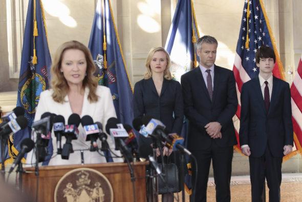 The Family TV show on ABC: cancelled, no season 2.