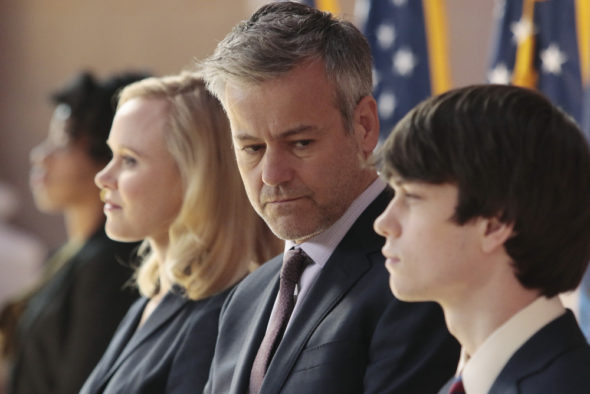 The Family TV show on ABC: cancelled, no season 2. The Family TV series finale.