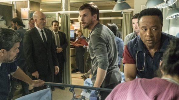Code Black TV show on CBS: season 2 renewal.