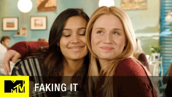 Faking It TV show on MTV season 3 canceled, no season 4