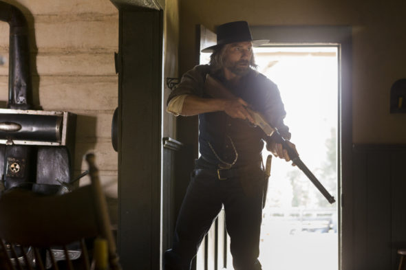 Hell On Wheels TV show on AMC: season 5; canceled, no season 6.