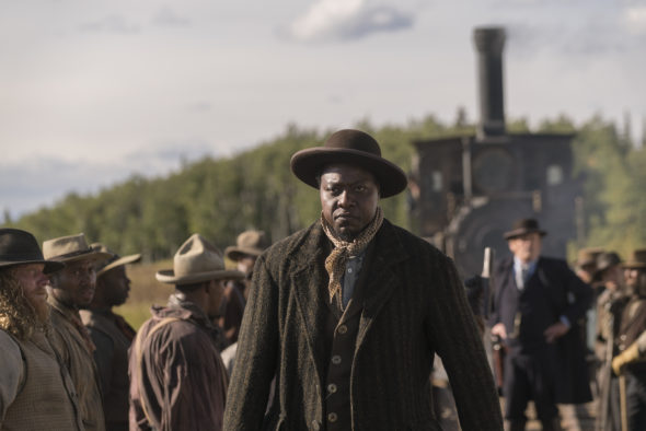 Hell on Wheels TV show on AMC: season 5 canceled, no season 6.