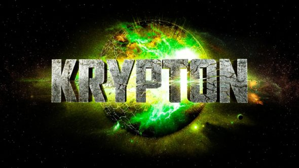 Krypton TV show on Syfy: season 1 (canceled or renewed?).