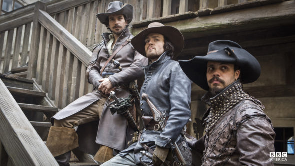 The Musketeers TV show on BBC