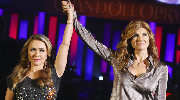 Nashville TV show on CMT. CMT orders season 5 of Nashville which was cancelled by ABC after four seasons.