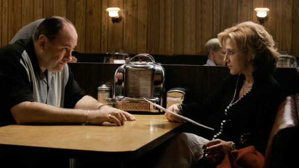 The Sopranos TV show on HBO season 6 (canceled or renewed?).