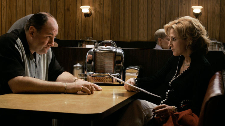 sopranos last episode essay Now at the end of the very last episode of the sopranos, don't stop believin'†is playing at holsten's as tony is again awaiting the arrival of his family, and .