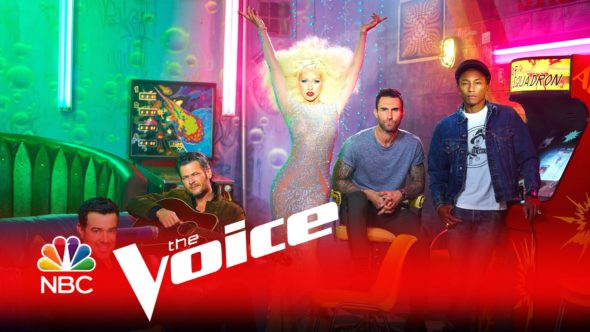 The Voice TV show on NBC: season 11 renewal.