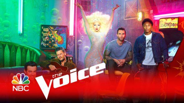 The Voice TV show on NBC: season 11 renewal.