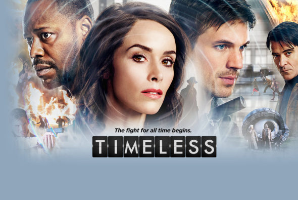 Timeless TV show on NBC: season 1 (canceled or renewed?).