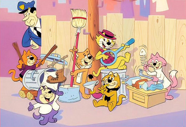 top cat hannabarbera characters return in british