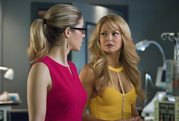 arrow  charlotte ross teases very different season five - canceled tv shows