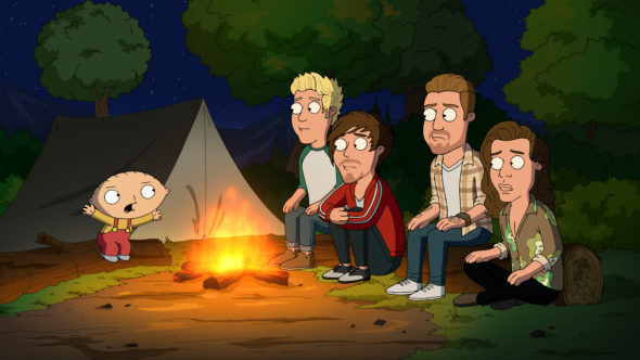 Family Guy TV show on FOX: season 14 renewal.