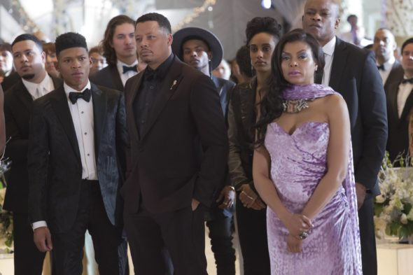 "EMPIRE: Pictured L-R: Bryshere Gray, Terrence Howard, AzMarie Livingston, and Taraji P. Henson in the ""Past is Prologue"" season finale episode of EMPIRE airing Wednesday, May 18 (9:00-10:00 PM ET/PT) on FOX. ©2016 Fox Broadcasting Co. CR:  Chuck Hodes/FOX"