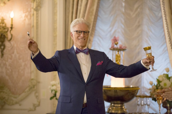 The Good Place TV show on NBC
