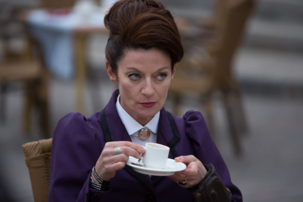 Doctor Who TV show on BBC America and BBC One: season 10 (canceled or renewed?). Michelle Gomez as Missy on Doctor Who, series 10.