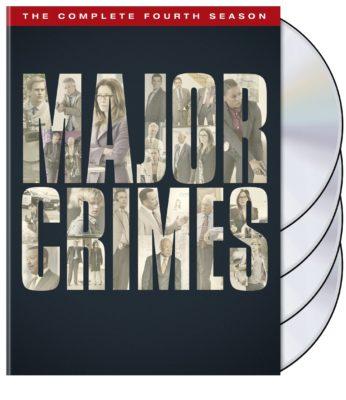 Major Crimes TV show on DVD
