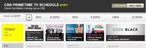 Rush Hour TV show on CBS: canceled, no season 2