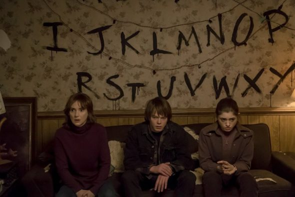 Stranger Things TV show on Netflix: season 1 premiere (canceled or renewed?).