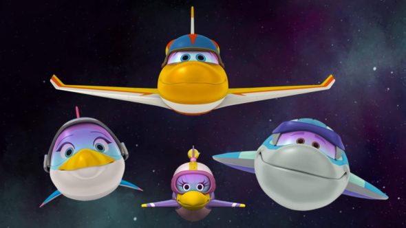 Space Racers; Sprout TV show
