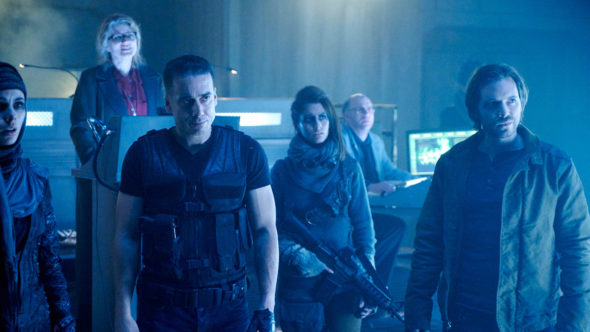 12 Monkeys TV show on Syfy: season 3 renewal; 12 Monkeys renewed for season 3 on Syfy (canceled or renewed?).
