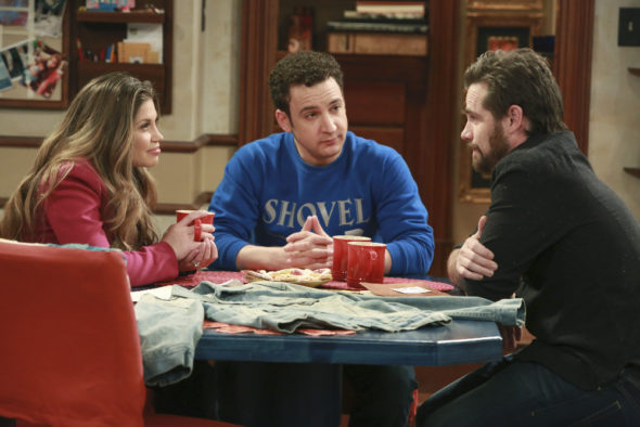 Girl Meets World TV show on Disney Channel: season 3 (canceled or renewed?). Rider Strong.