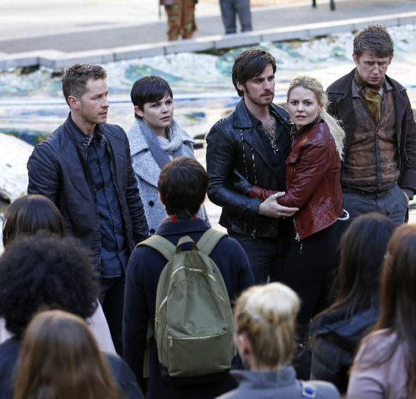 Once Upon a Time TV show on ABC: season 6 (canceled or renewed?).