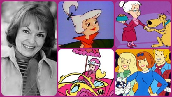 Voice actress Janet Waldo
