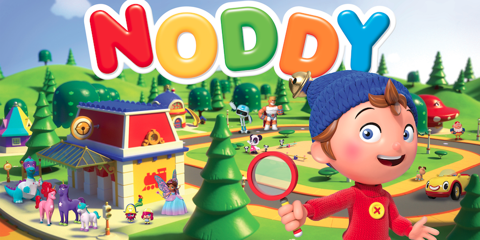 Noddy Toyland Detective Sprout Picks Up DreamWorks