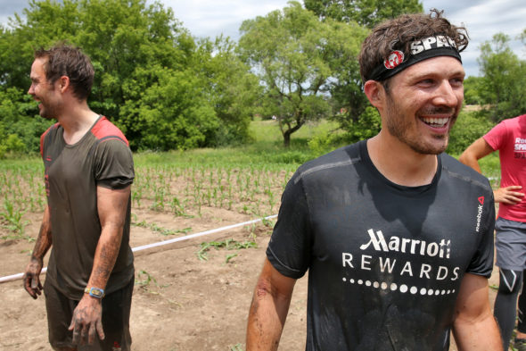 Friday Night Lights TV show casts reunited at Spartan Race.