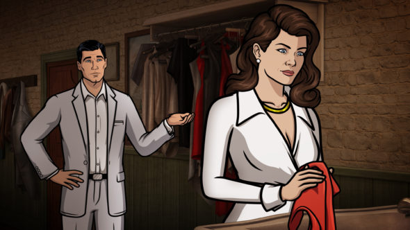 Archer TV show on FX: season 7. Producers want Jon Hamm as Sterling Archer in live-action Archer film.